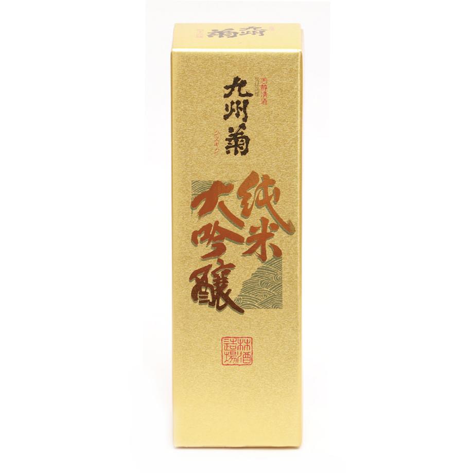箱 (九州菊 純米大吟醸 1.8Ml)